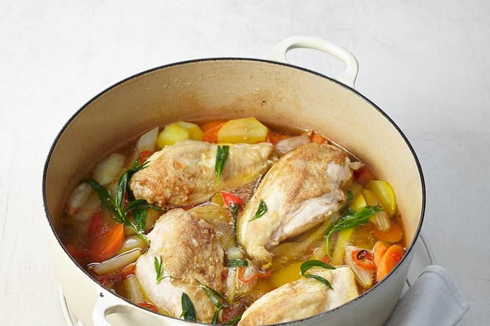 Estragon-Hühnerbrust  Rezept
