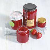 Erdbeer-Vanille-Konfitüre