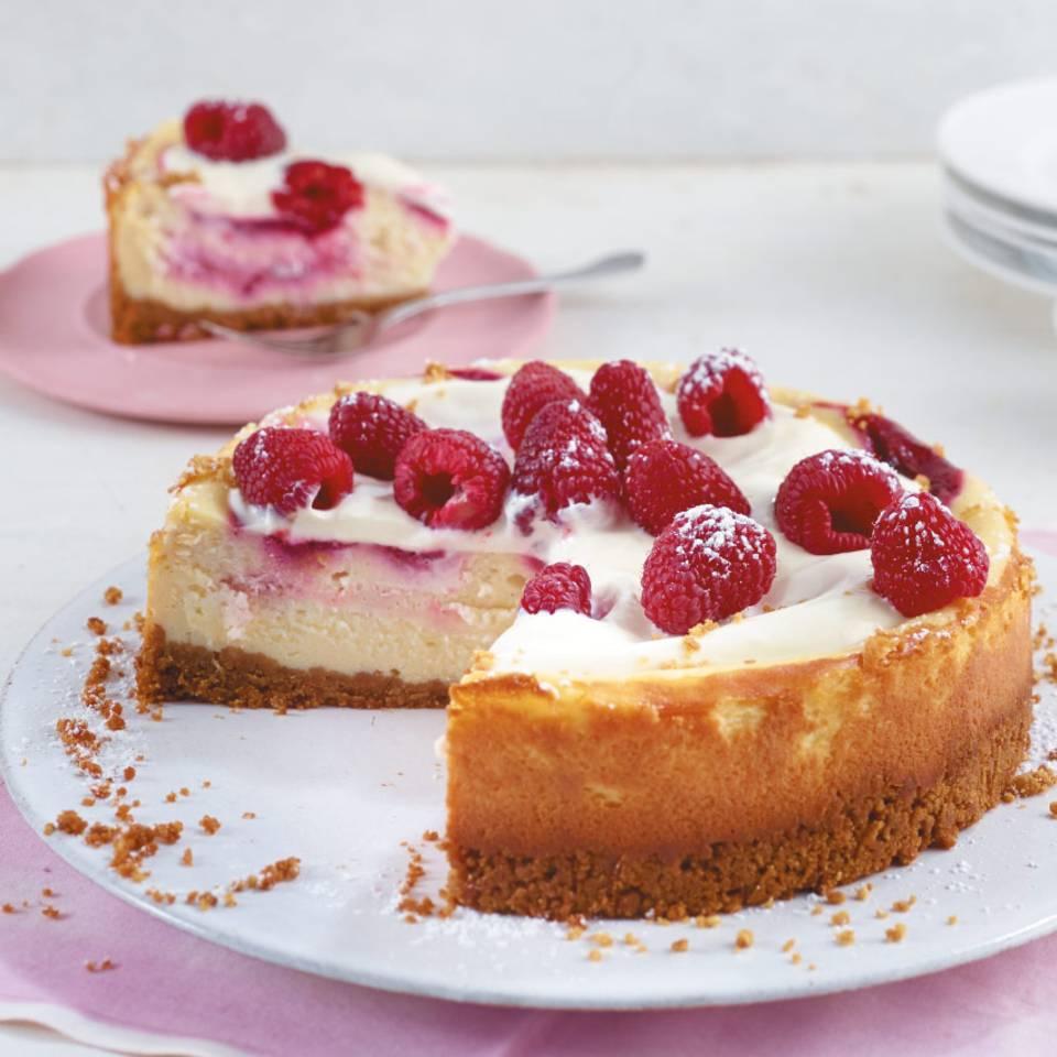 Himbeer-Cheesecake  Rezept