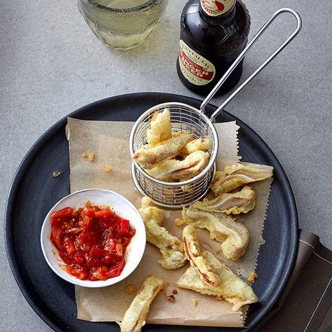 Scharfer Paprika-Chili-Dip
