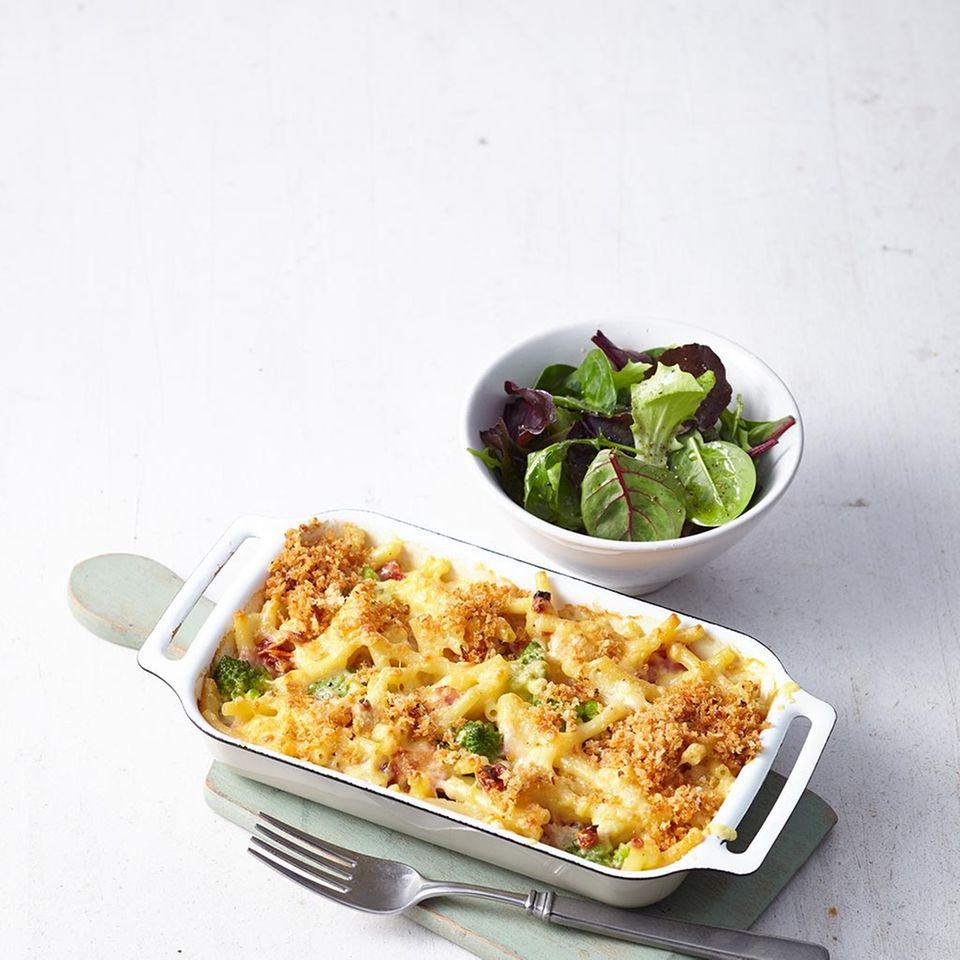 Schinken-Käse-Makkaroni