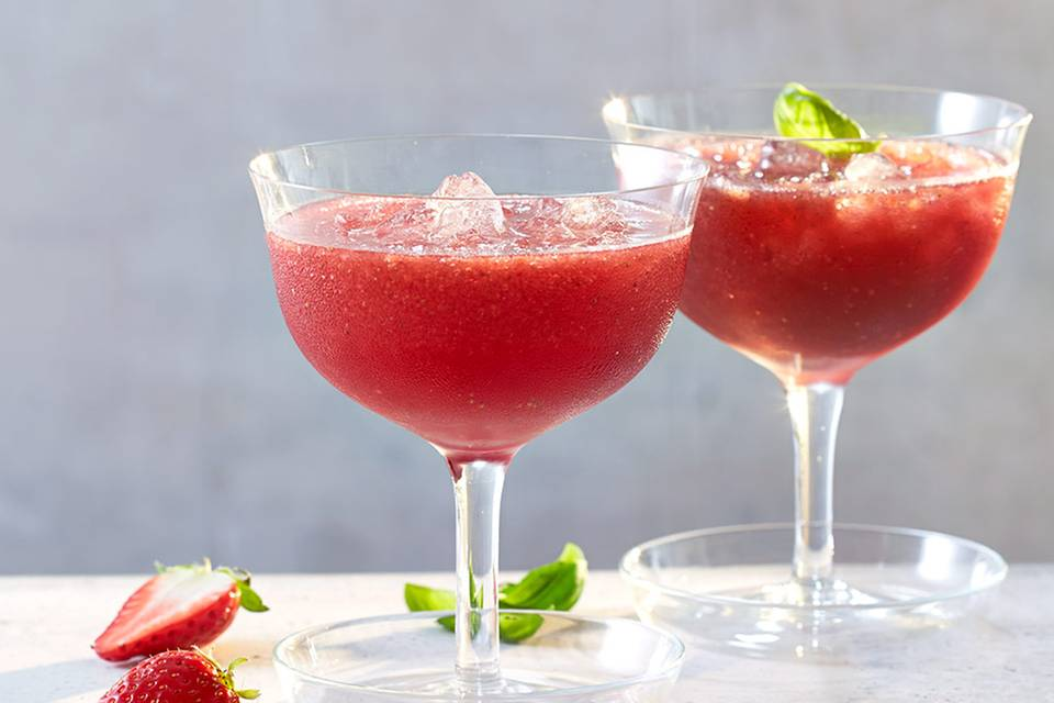 Berry & Basil Rezept