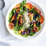 Graupen-Tomaten-Salat mit Pancetta