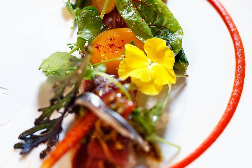 Rinderfilet mit Markt-Salat  Rezept