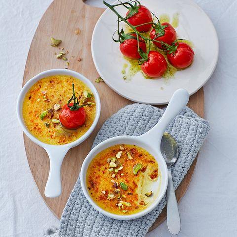 Parmesan-Crème-brûlée