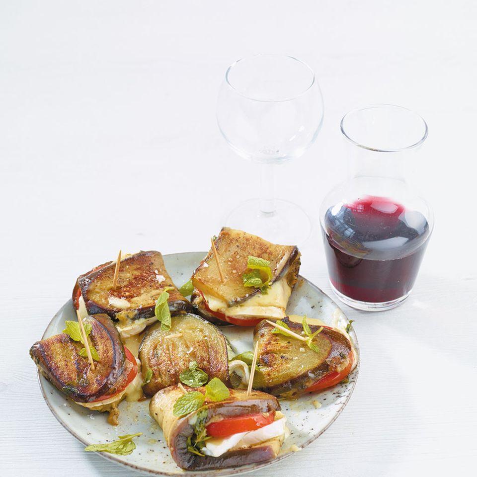 Auberginen-Snack