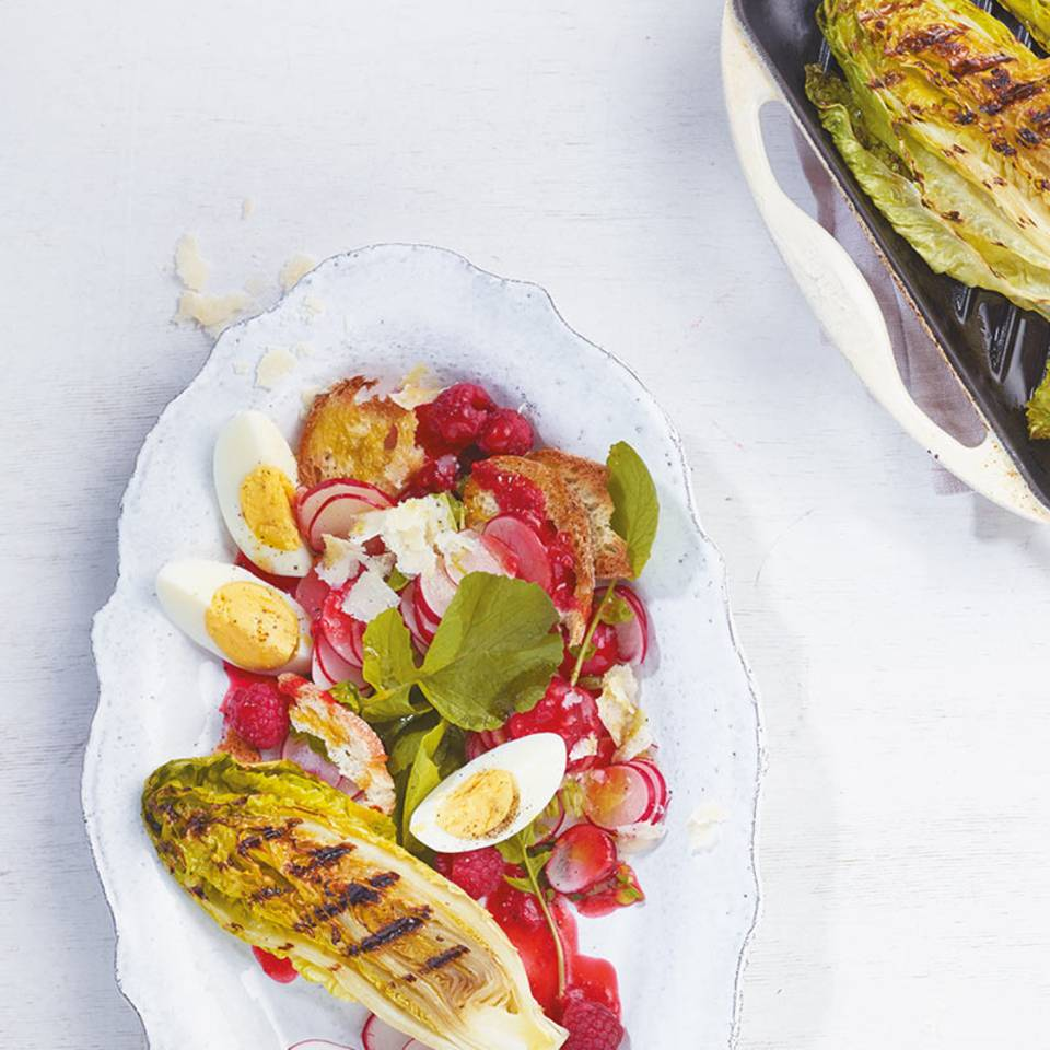 Gegrillter Römersalat Rezept