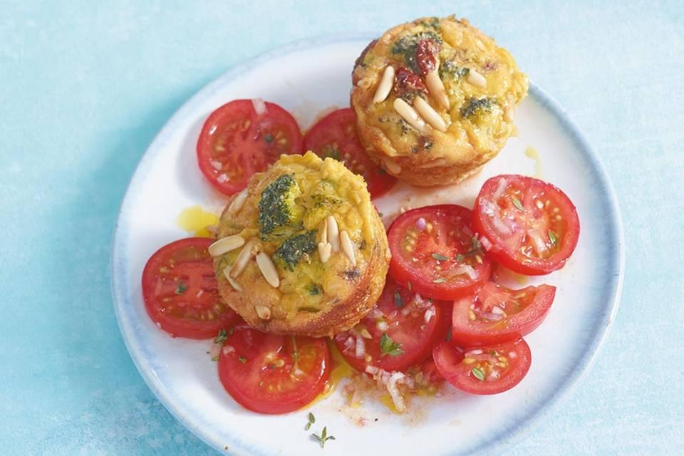 Gemüse-Muffins Rezept