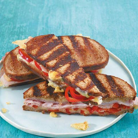 Graubrot-Sandwich