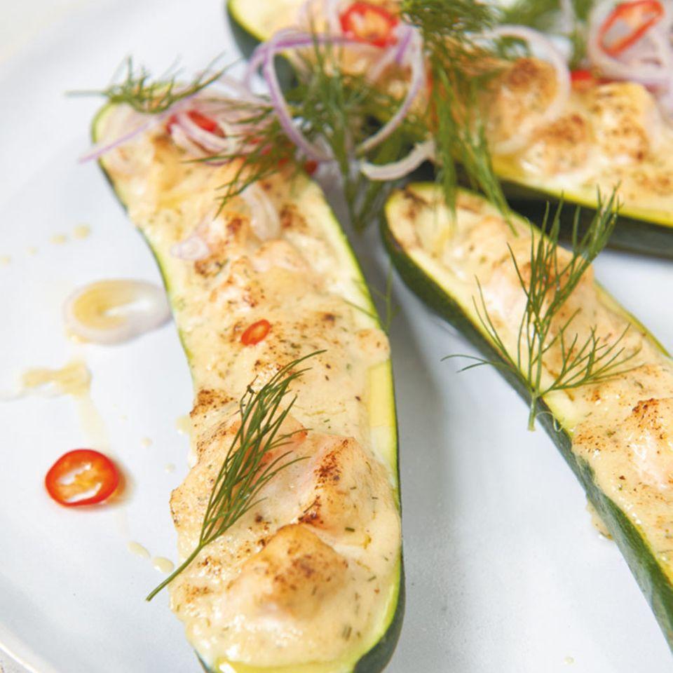 Lachs-Zucchini