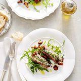 Rinderfilet-Involtini mit marinierten Sardinen