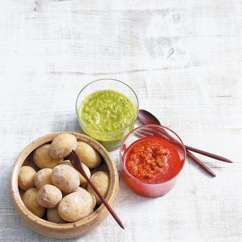 Papas arrugadas – Kartoffeln mit Salzkruste