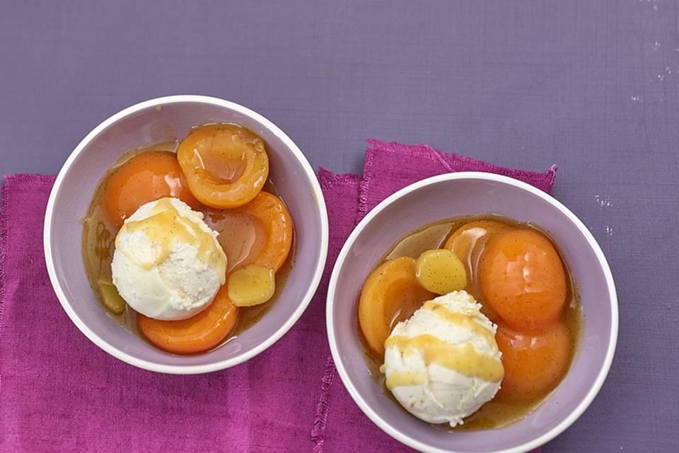 Ingwer-Aprikosen-Kompott  Rezept