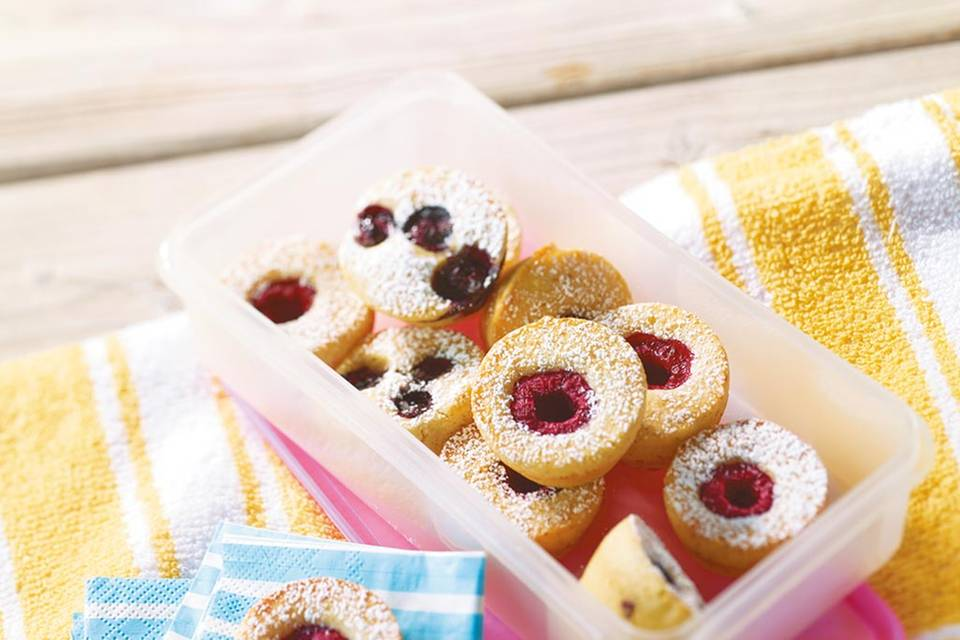 Mini-Beeren-Muffins  Rezept