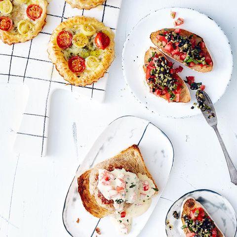 Blätterteig-Tomaten-Tartelettes