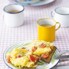 Tomaten-Käse-Rührei