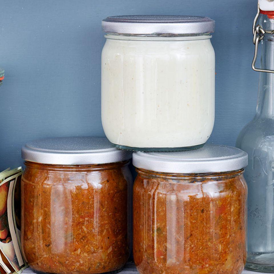 Béchamel-Sauce für den Vorrat