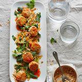 Chicken balls in süßsaurer Chilisauce