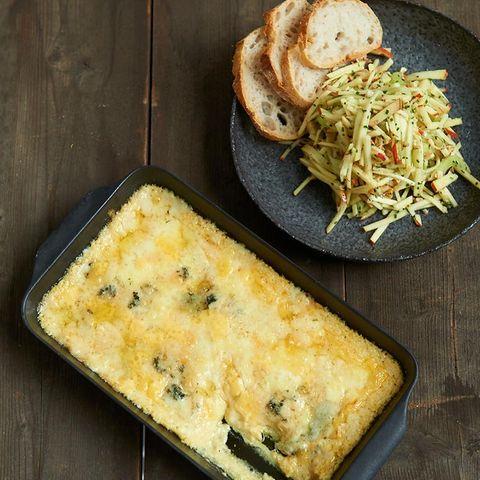 Cremige Käse-Polenta