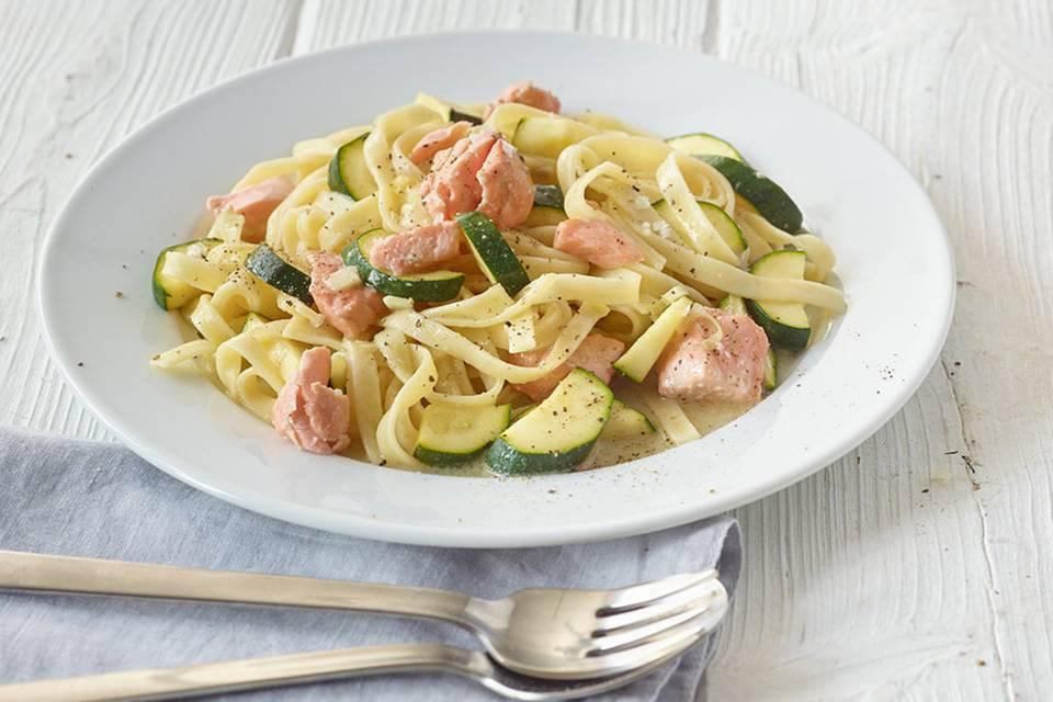 Lachs-Pasta Rezept