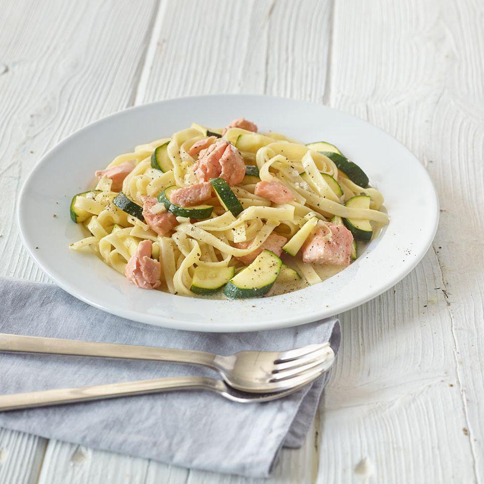 Lachs-Pasta