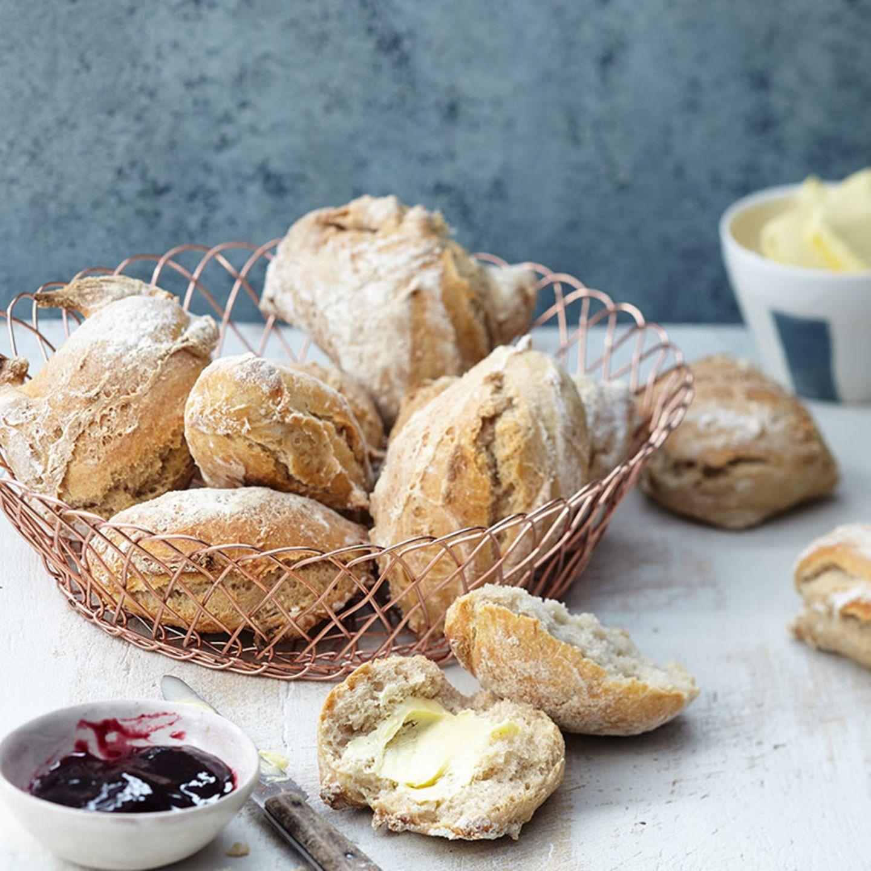 Brunch: Rezepte für Brot und Brötchen