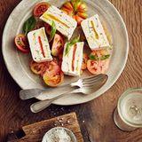 Joghurt-Terrine mit Paprika
