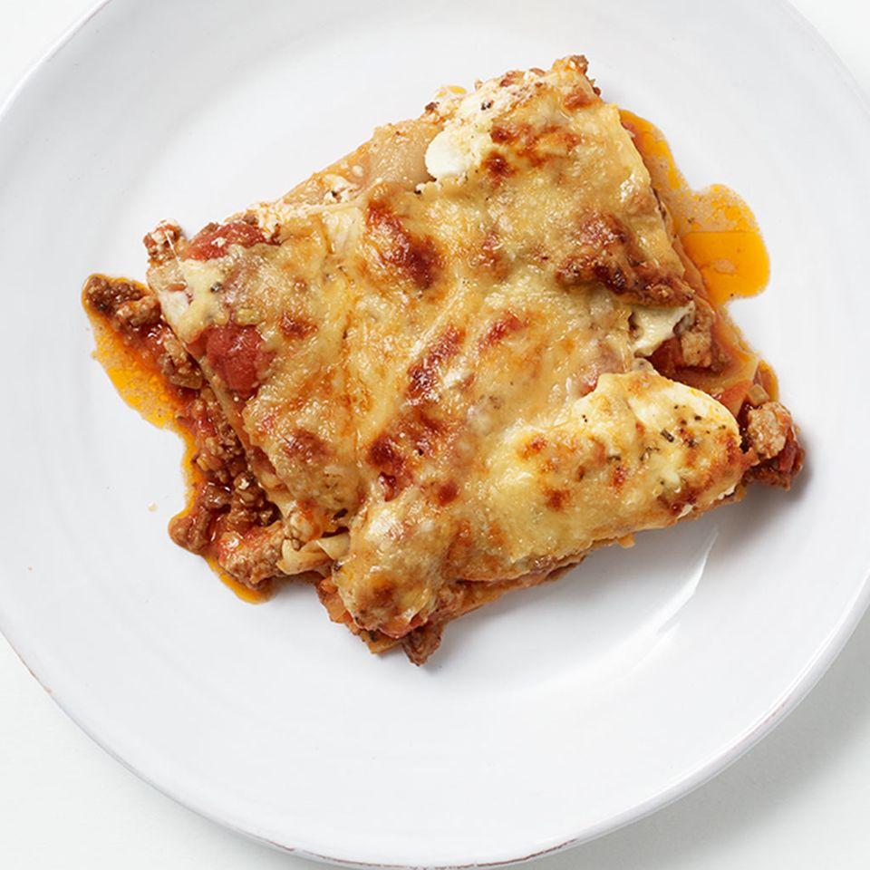 Pfannen-Lasagne