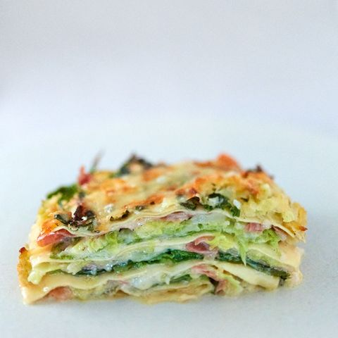 Wirsing-Lasagne