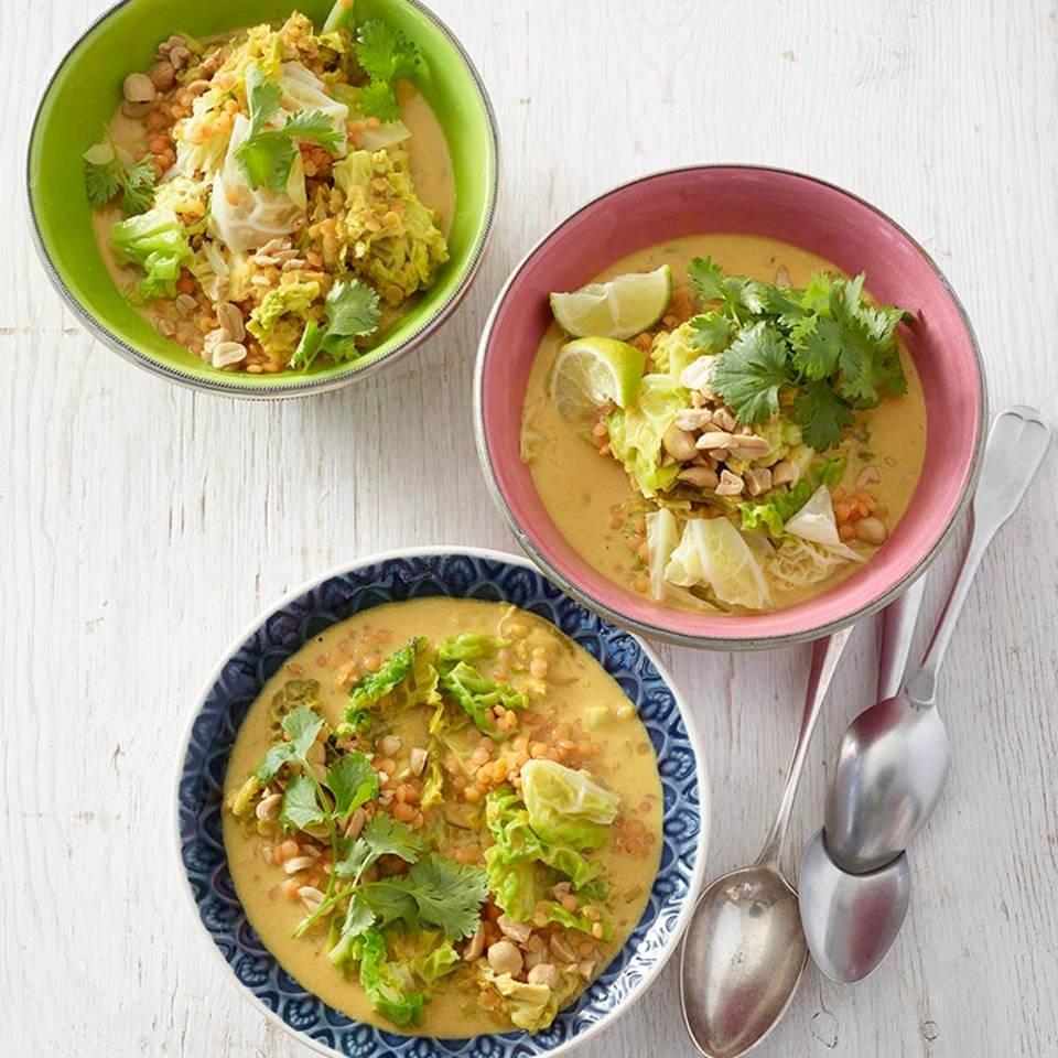 Wirsing-Linsen-Curry  Rezept