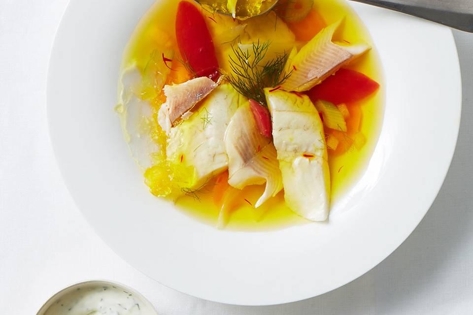 Teller-Fischsülze  Rezept