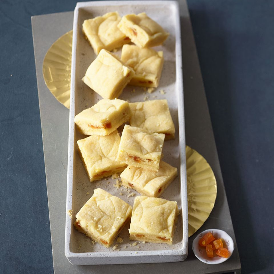 Orangen-Marzipan-Kissen