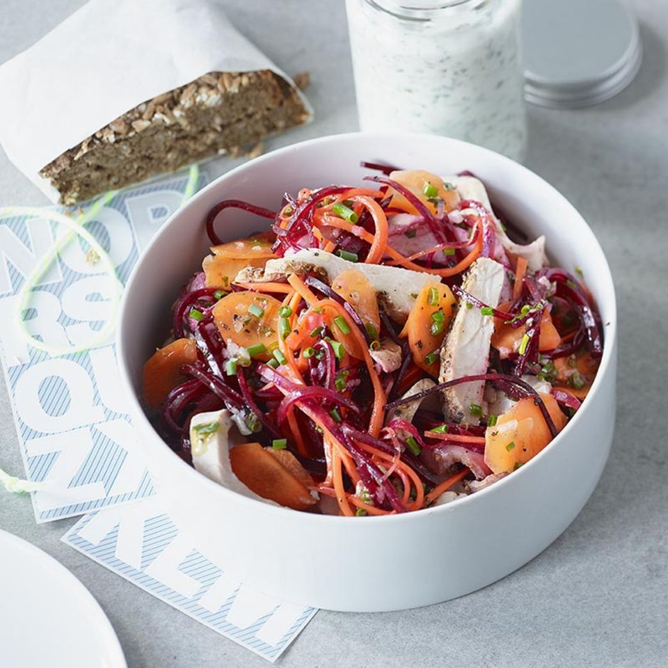 Gemüse-Braten-Salat