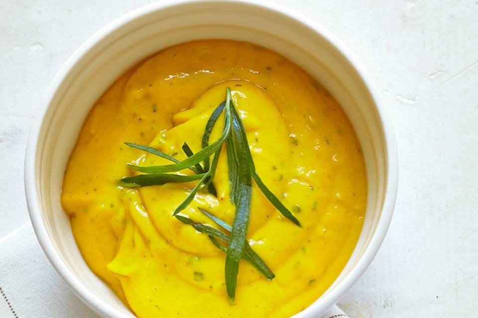 Mango-Curry-Dip Rezept