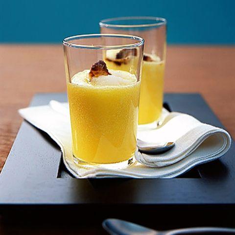 Ananas-Rettich-Drink mit Soja