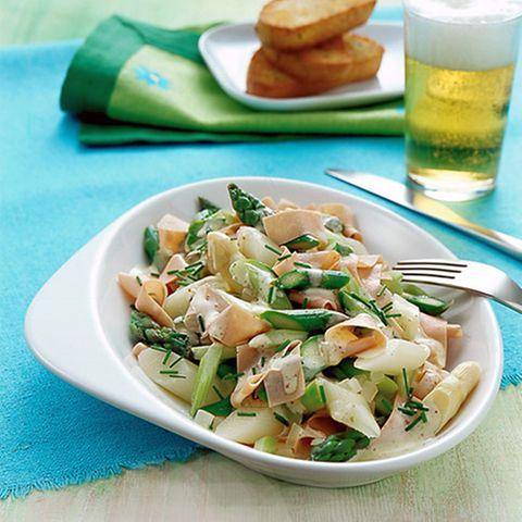 Spargel-Wurstsalat