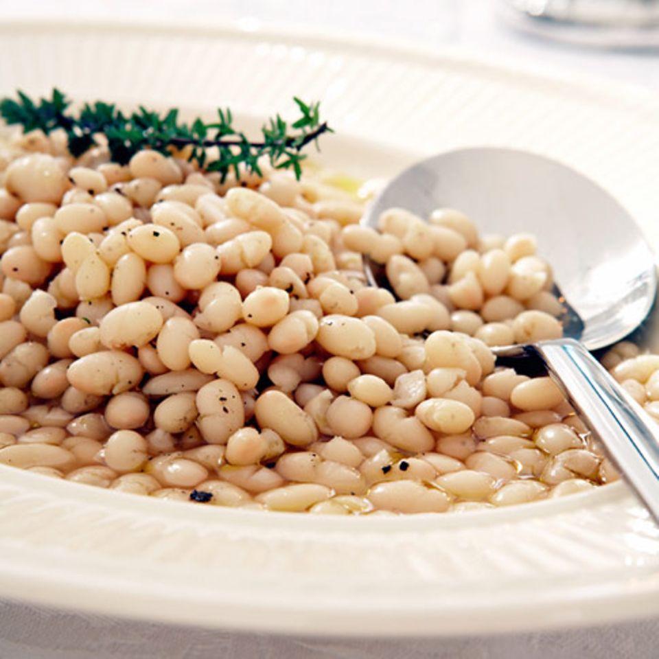 Weiße Bohnen