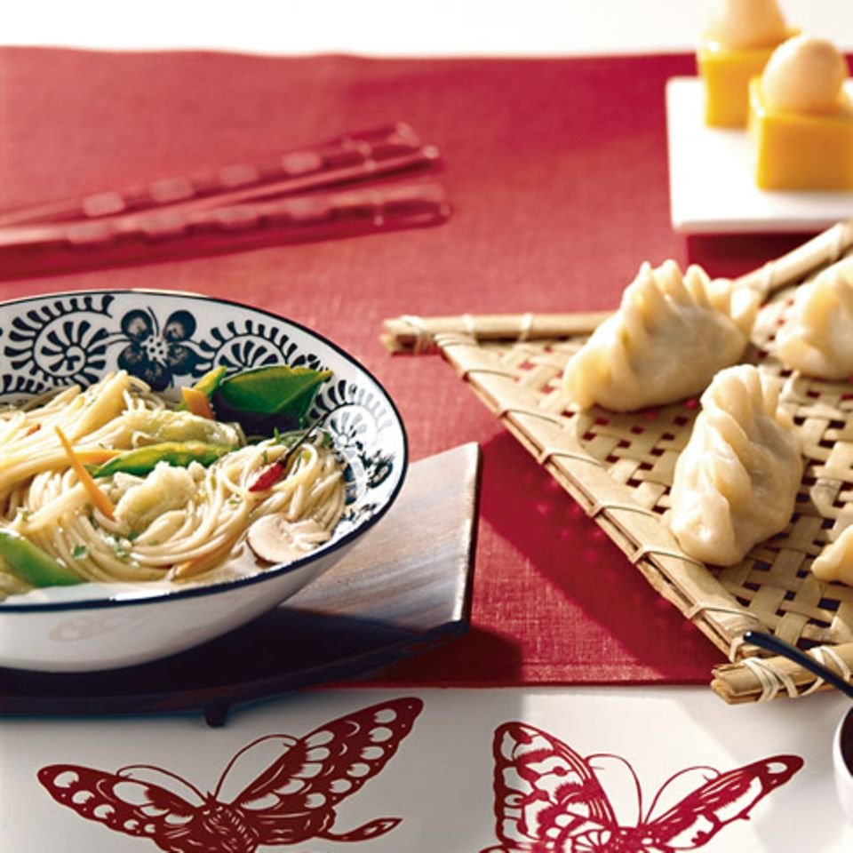Chinesische Nudelsuppe