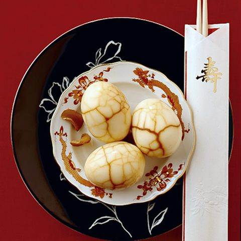 Ingwer-Tee-Eier