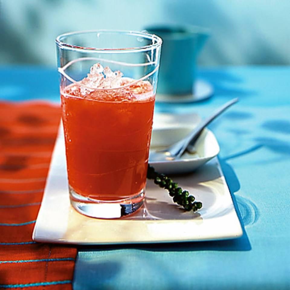 Rhabarber-Erdbeer-Drink Rezept