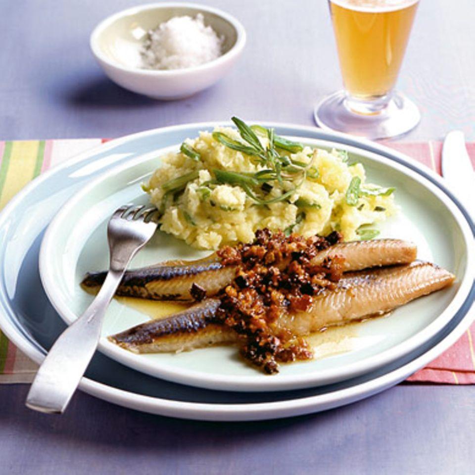 Bohnen-Kartoffel-Stampf