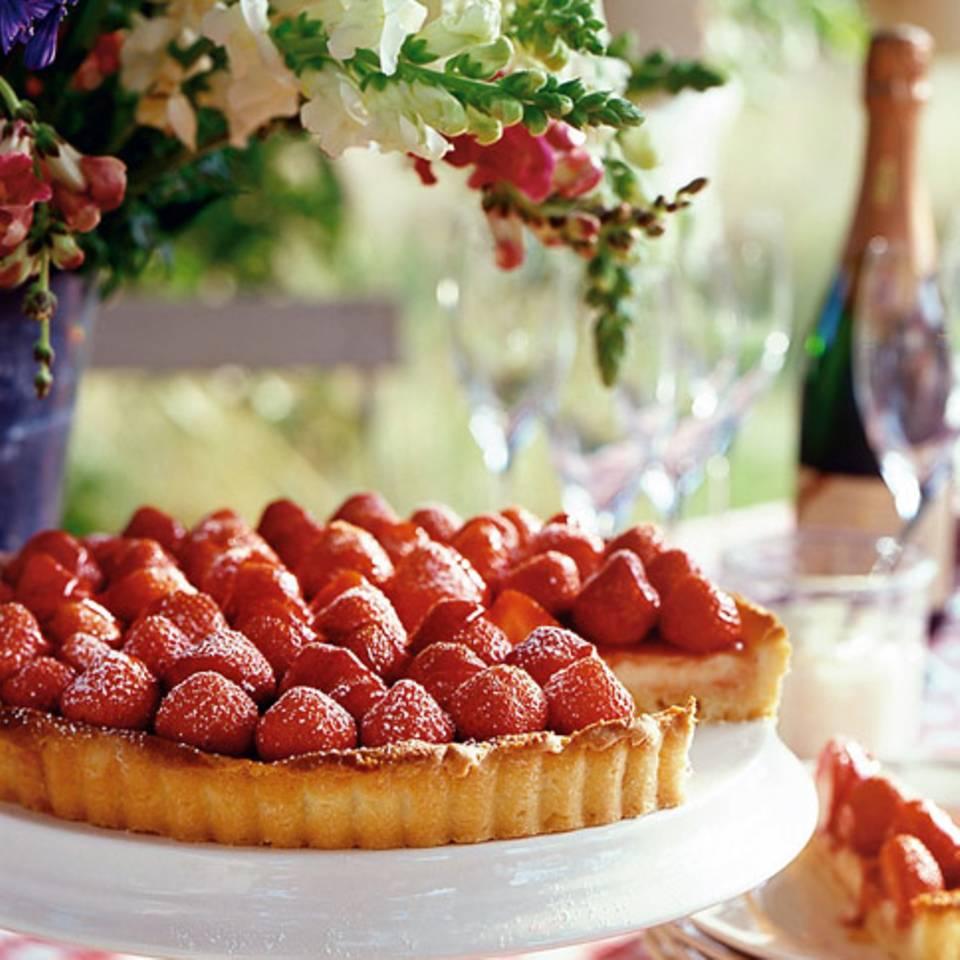 Erdbeer-Zitronen-Tarte Rezept