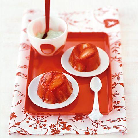 Erdbeer-Timbale
