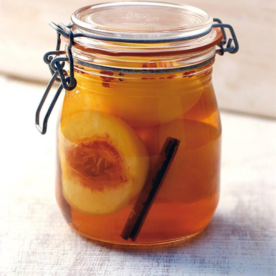 Pfirsiche in Muskateller Rezept