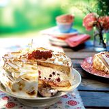 Johannisbeer-Ricotta-Torte
