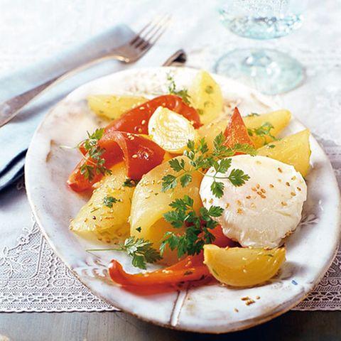 Schmorgurken-Paprika-Gemüse