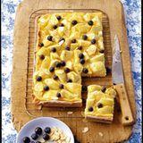 Apfel-Blaubeer-Kuchen