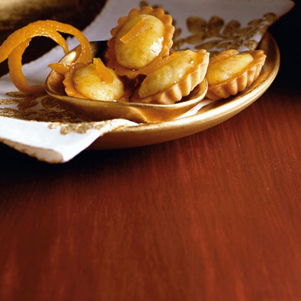 Marzipan-Tartelettes