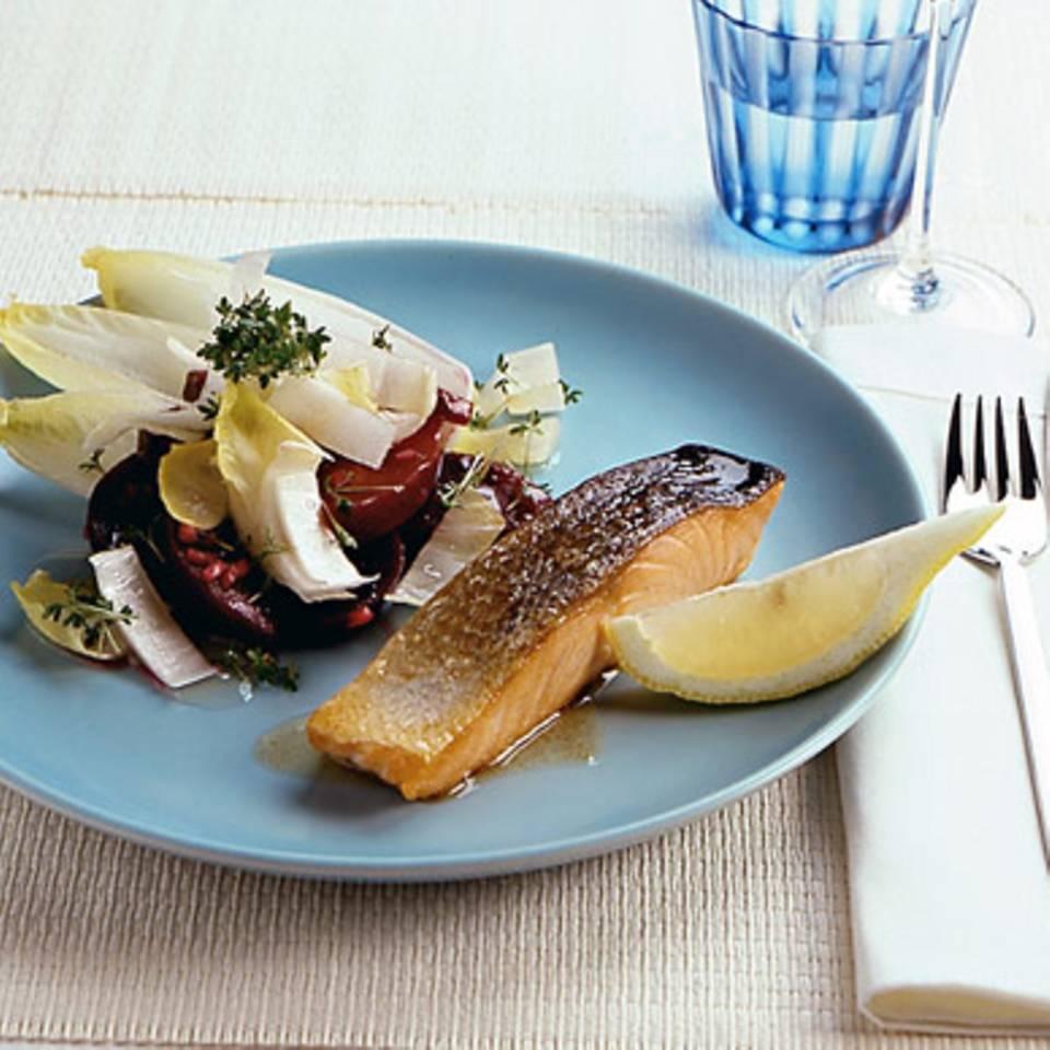 Rote-Bete-Chicorée-Salat Rezept