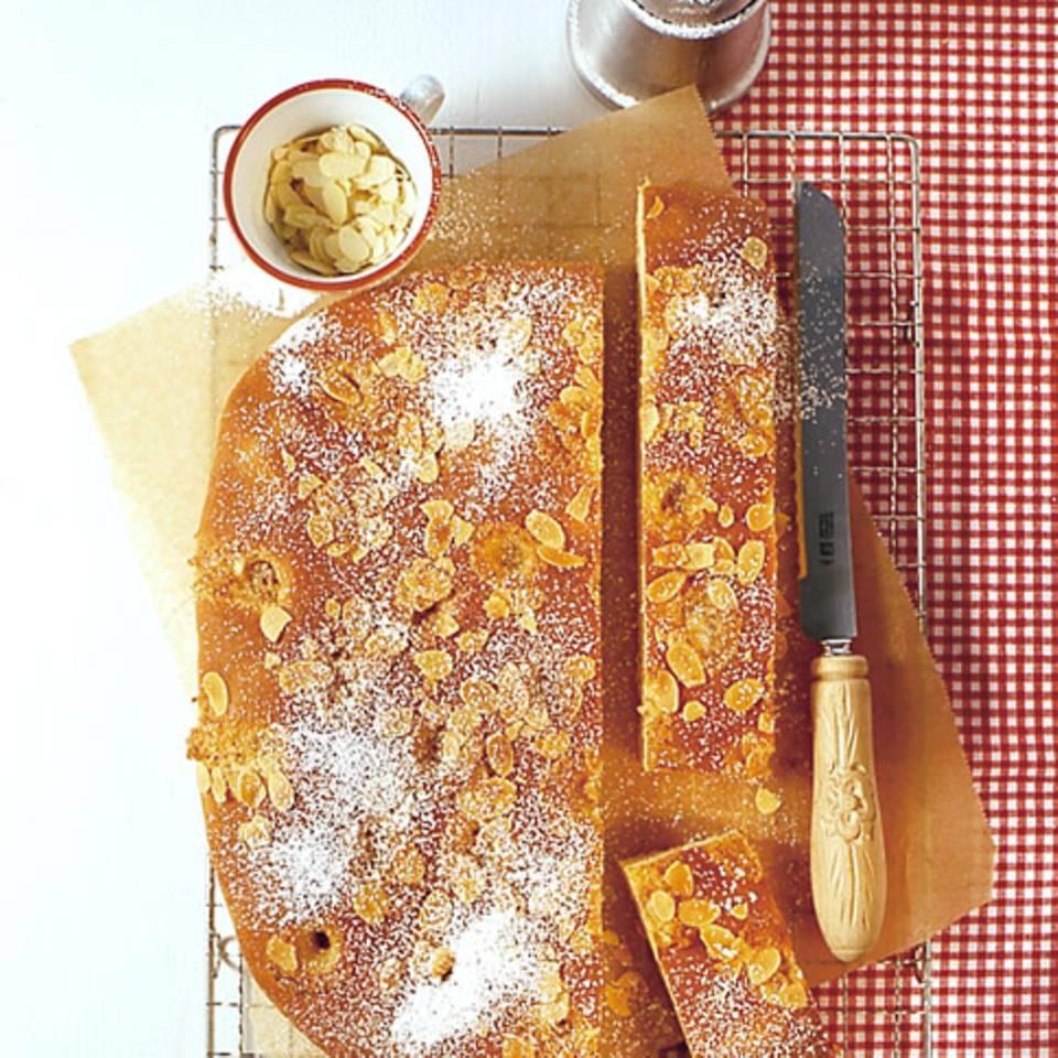 Stollen-Butterkuchen Rezept